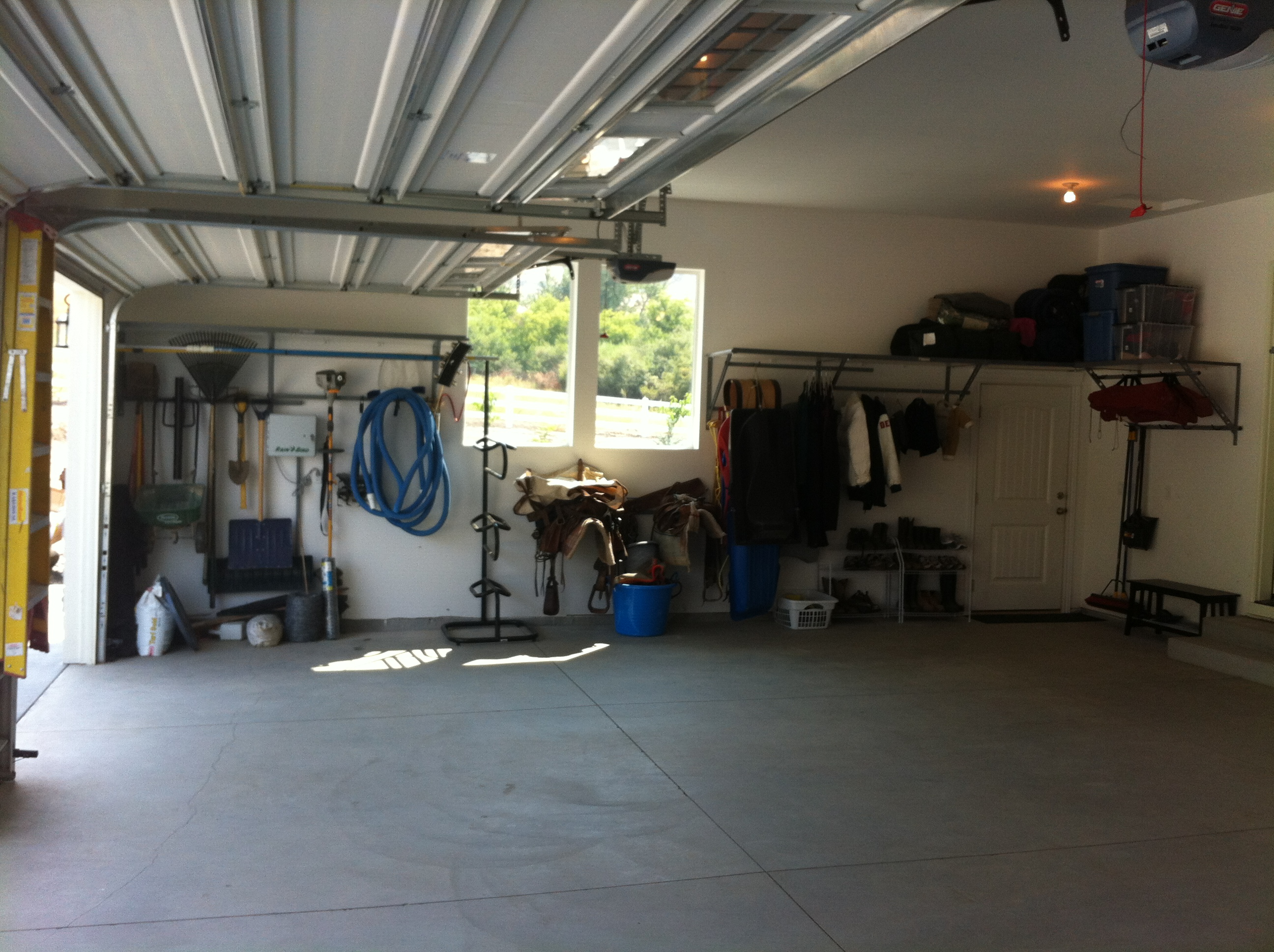Garage Shelving Kuna After Organization